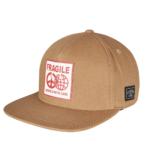 FRAGILE PEACE Snapback Cap